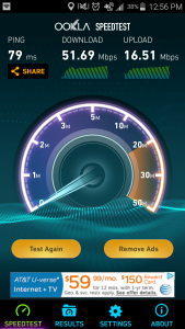 at&t speed test in Humacao, PR