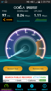 Sprint Speed Test