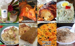 Christmas food in Puerto Rico